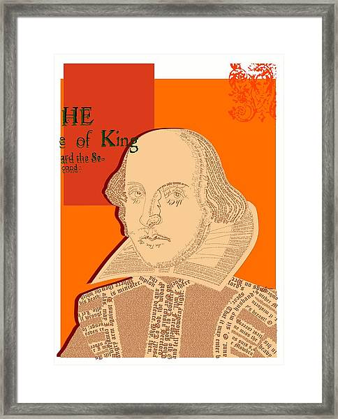 Act One Framed Print