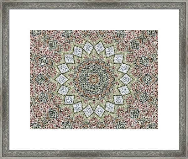 Acts -02- Framed Print