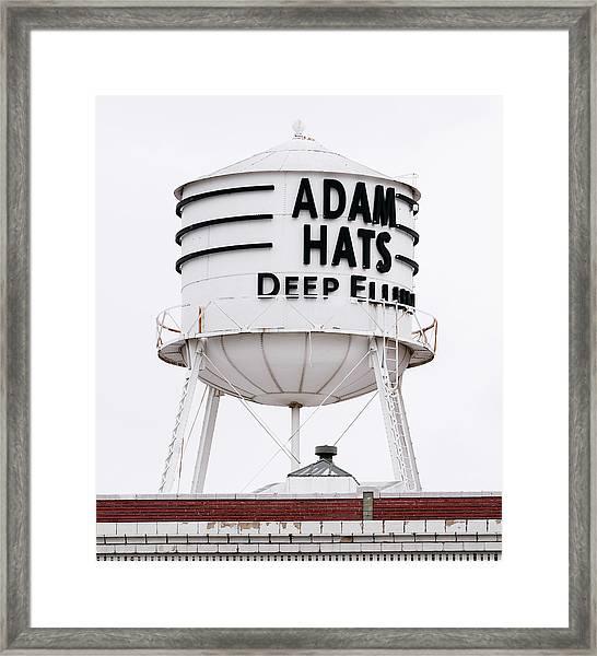 Adams Hats Deep Ellum Texas 061818 Framed Print