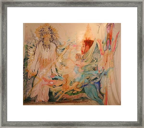 Adam's Rib Framed Print