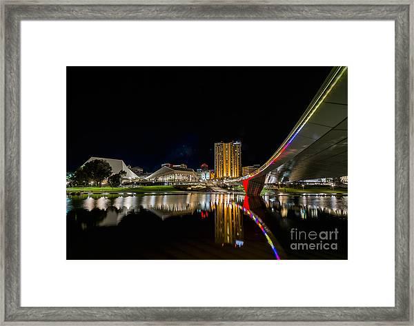 Adelaide Riverbank Framed Print