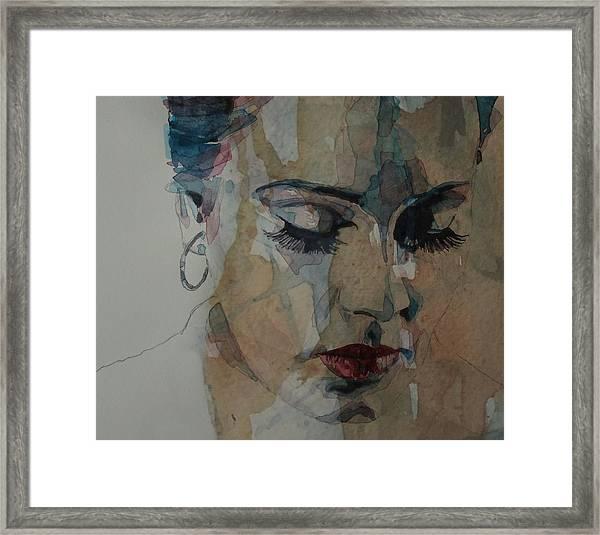 Adele - Make You Feel My Love  Framed Print