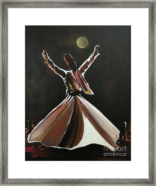 Adherence Framed Print