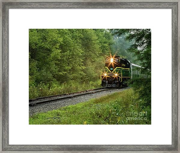 Adirondack Rr Framed Print