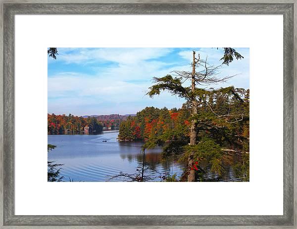 Adirondack View Framed Print