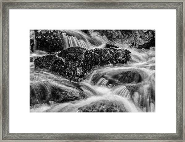 Adirondack Waterfall Framed Print