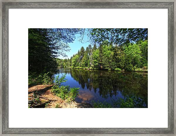 Adirondack Waters Framed Print