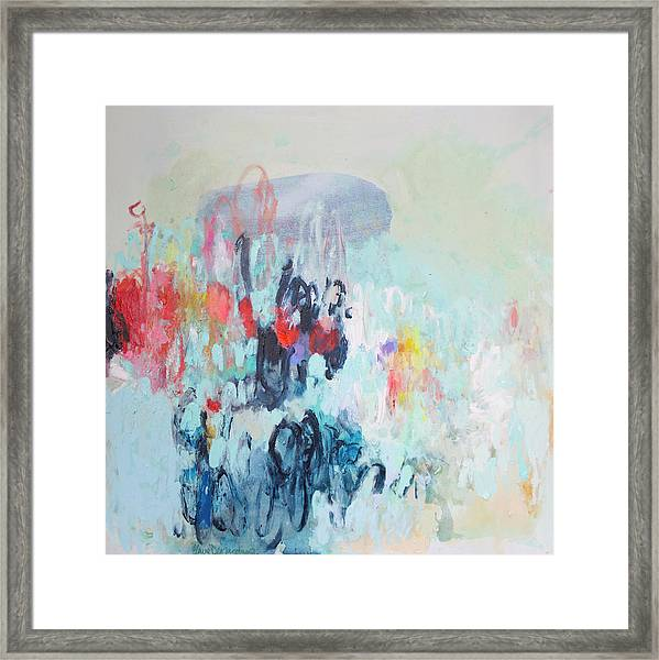 Admirable Intentions Framed Print