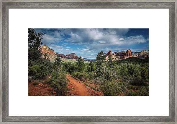 Adobe Jack Trail Framed Print