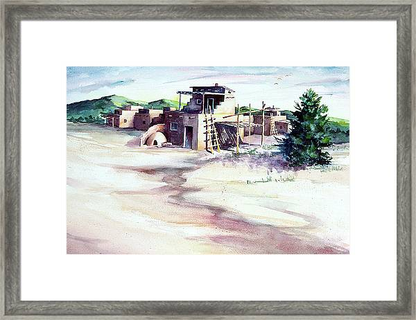 Adobe Pueblo Framed Print