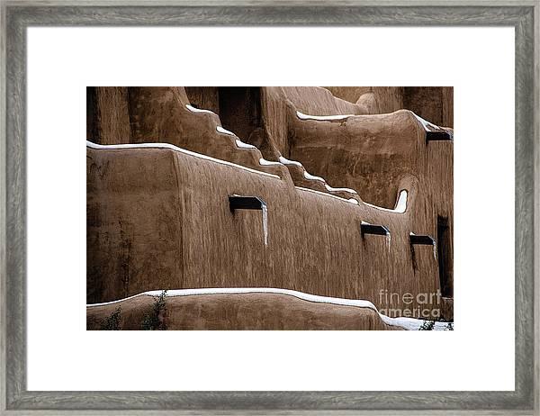 Adobe Walls Framed Print