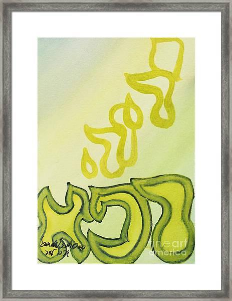 Adonai Rophe - God Heals Framed Print