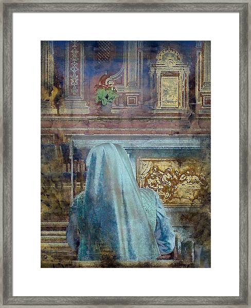 Adoration Chapel 3 Framed Print