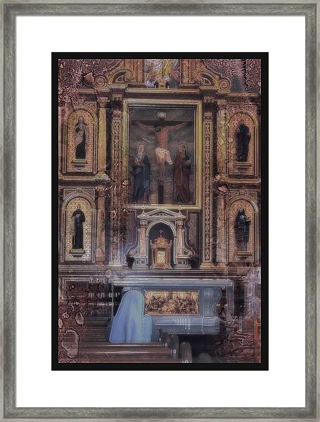 Adoration Chapel 5 Framed Print