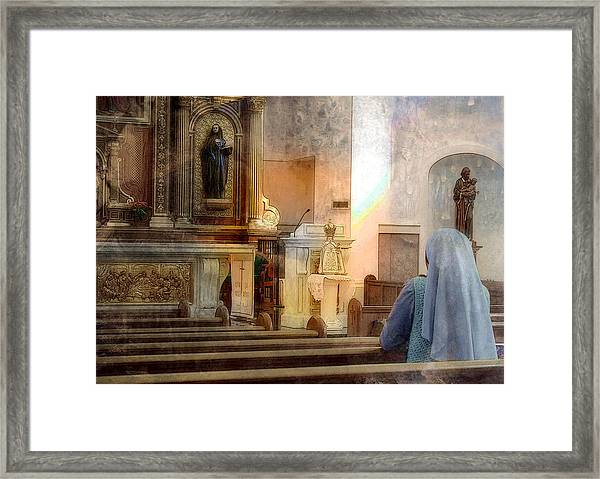 Adoration Chapel Framed Print