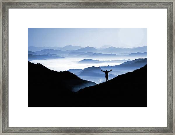 Adoration Of Natural Beauty Framed Print
