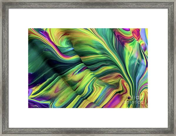 Aegean Wave Framed Print