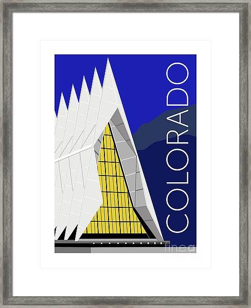 Colorado Afa Chapel Framed Print