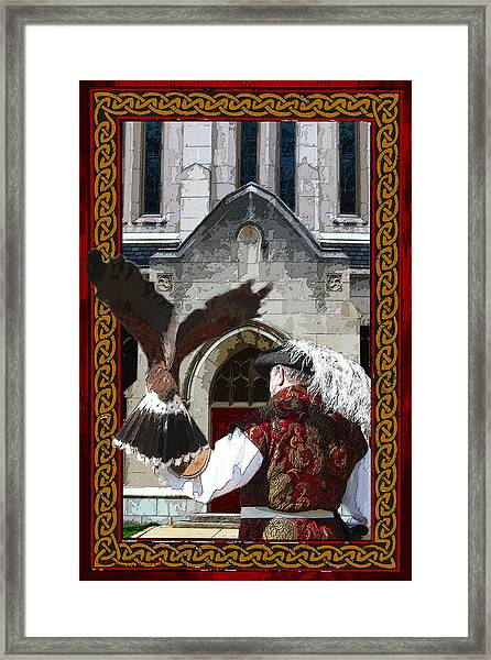 The Falconer Framed Print