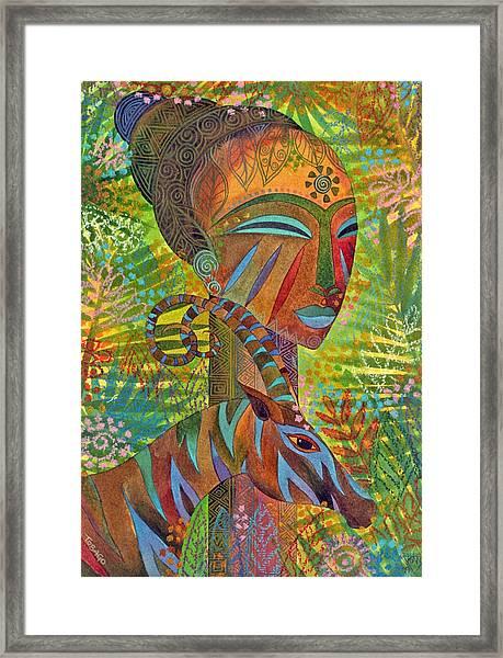 African Queens Framed Print by Jennifer Baird
