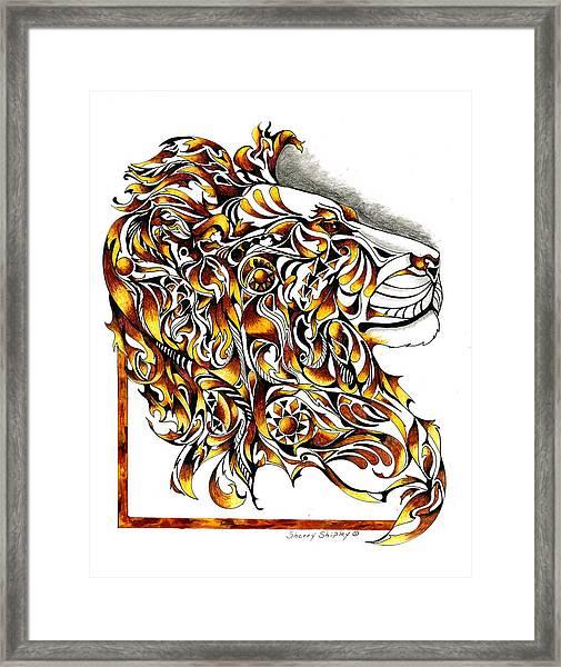 African Spirit Framed Print