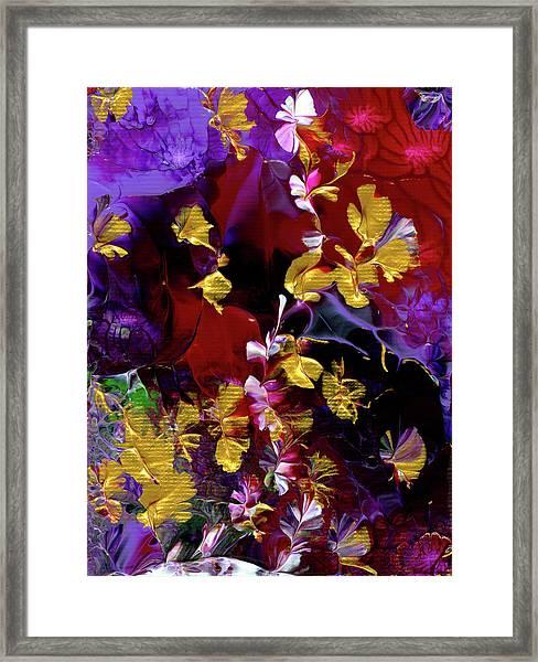 African Violet Awake #3 Framed Print