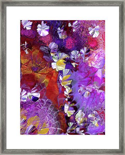 African Violet Awake #5 Framed Print