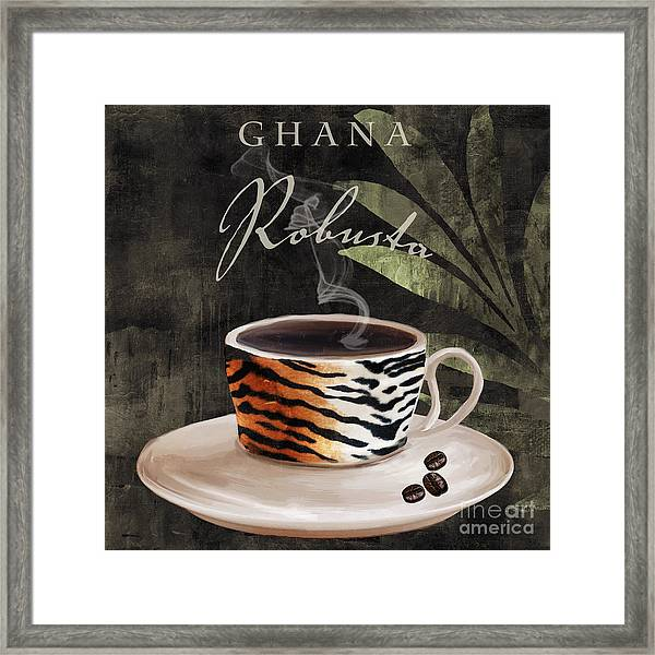 Afrikan Coffees II Framed Print