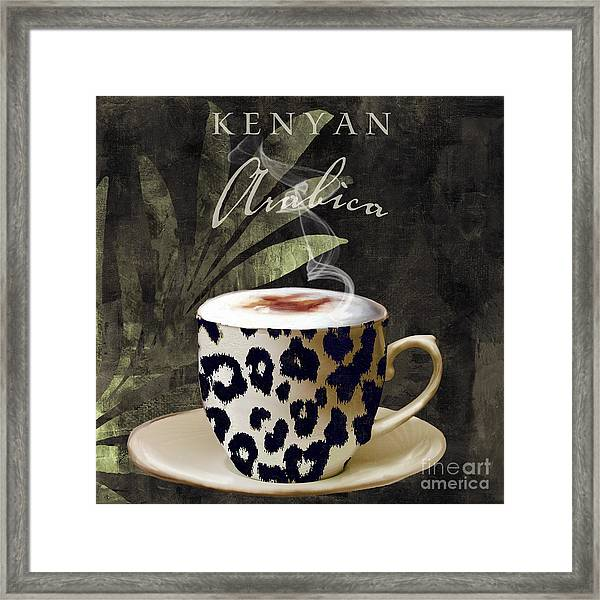 Afrikan Coffees IIi Framed Print