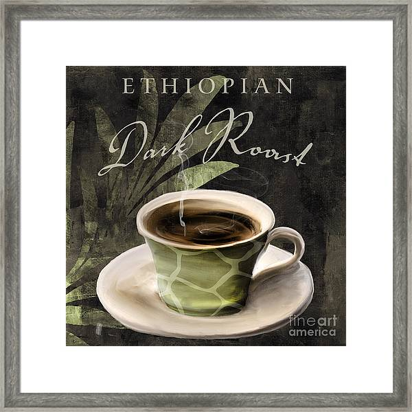 Afrikan Coffees Iv Framed Print