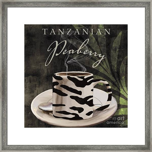 Afrikan Coffees Framed Print