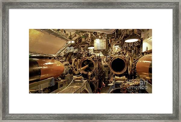 Aft Torpedo Tubes Framed Print
