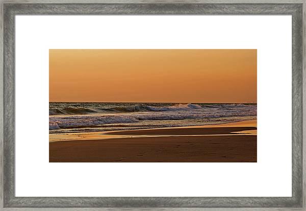 After A Sunset Framed Print