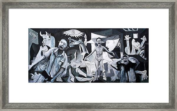 After Guernica Framed Print by Michelle Barone
