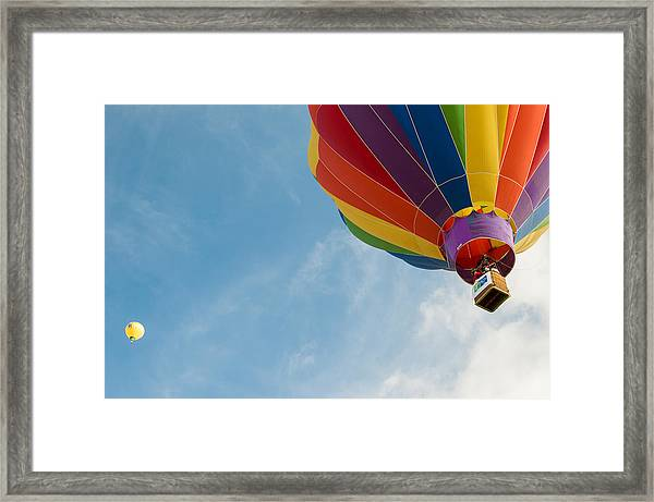 After Liftoff Framed Print