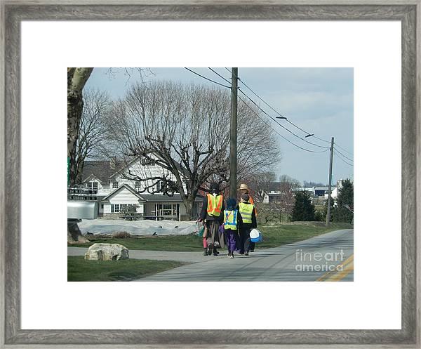 After School Framed Print
