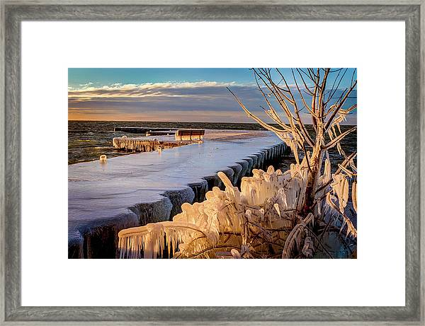 After The Blow Framed Print
