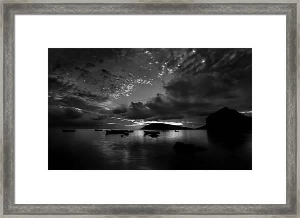 After The Day The Night Shall Come Framed Print