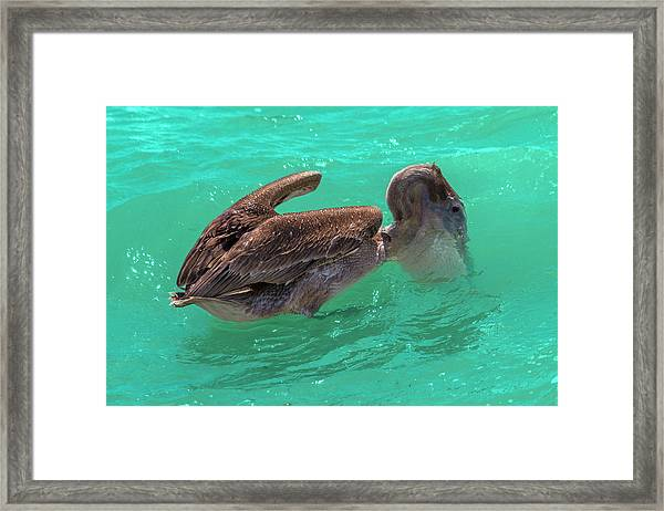 After The Dive Southern Most House Key West Framed Print