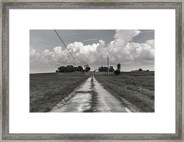 After The Rain In Readyville Framed Print