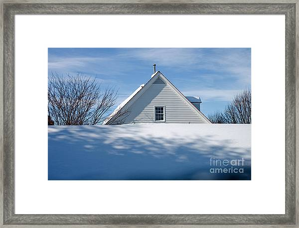 After The Snowfall Framed Print