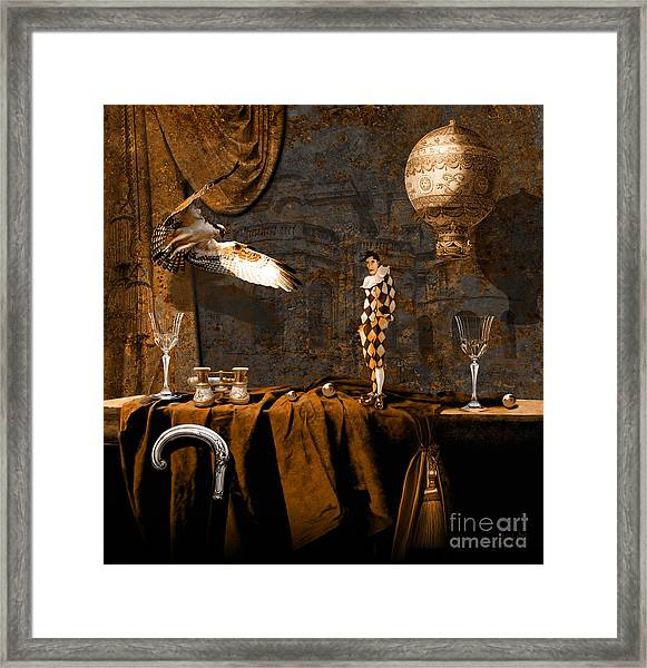 After Theater Framed Print