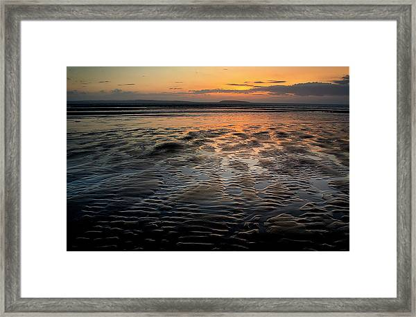 Afterglow At Penmaenmawr Framed Print