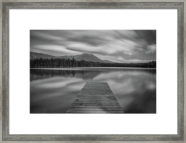 Afternoon At Daciey Pond Framed Print