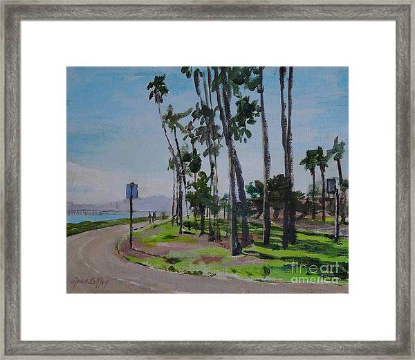 Afternoon At East Beach Framed Print