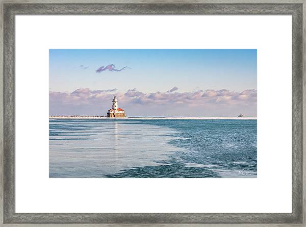 Afternoon In The Harbour Framed Print