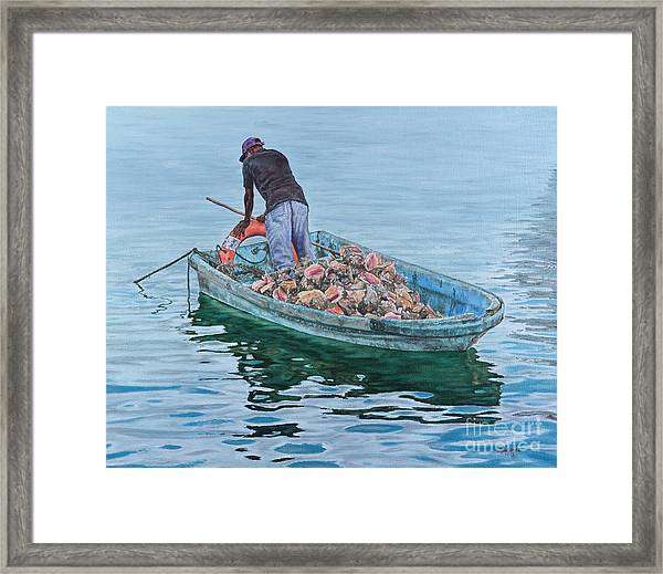 Afternoon Repose Framed Print