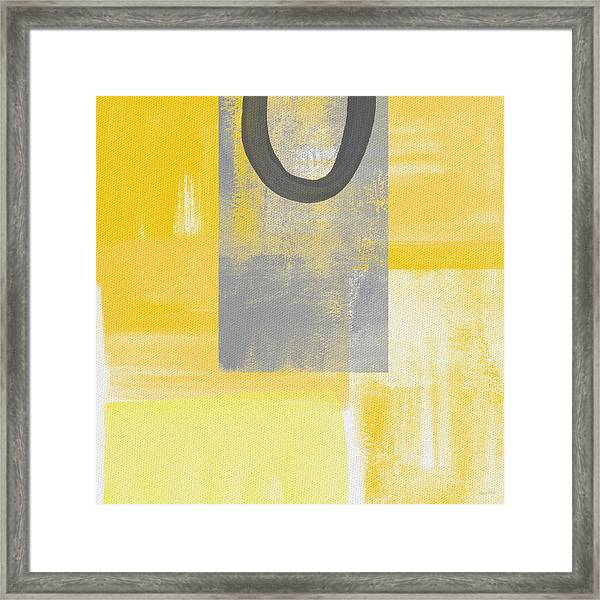 Afternoon Sun And Shade Framed Print