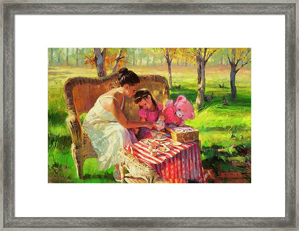 Afternoon Tea Party Framed Print