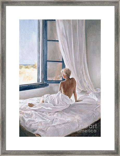 Afternoon View Framed Print